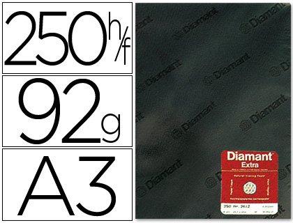 Diamant DIN-A-3 - Papel vegetal diamante, A3