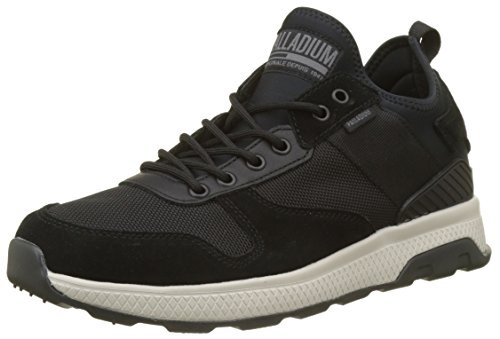 Palladium Axeon Low, Zapatillas Para Hombre, Gris (Rainy Day/Desert Camo M62), 40 EU