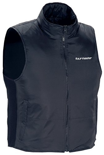TourMaster Synergy 2.0 Electric Vest Liner with Collar (Small, Black)
