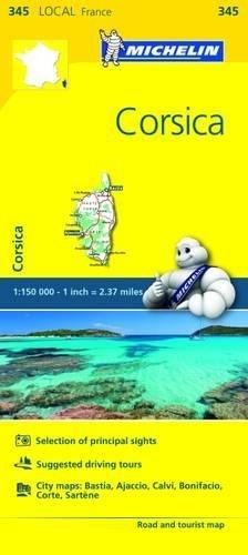 Mapa Local Corsica (Mapas Local Michelin) por Vv.Aa.
