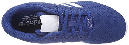 adidas Zx Flux, Scarpe da Ginnastica Unisex – Adulto Blau (Dark Marine/Ftwr White/Ftwr White)