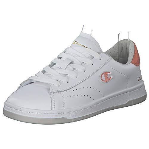 Champion Low Cut Court Club Damen Sneaker Low   Sportschuhe   Laufschuhe   Freizeitschuhe   Damenschuhe Weiß (White) 38 EU