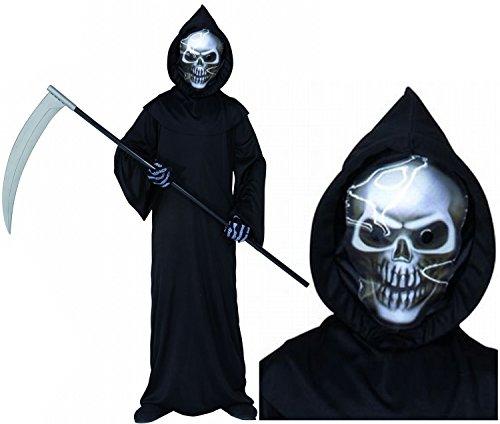Nick and Ben Sensemann Küstumset 3D-Maske Sense Kostüm Halloween Karneval 11-13 Jahre