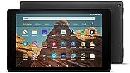 FireHD10-Tablet, Zertifiziert und generalüberholt, 64 GB, Schwarz – 10,1Zoll großes FullHD-Display (1080p)