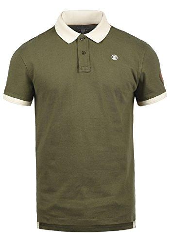 Blend Ralf Herren Poloshirt Polohemd T-Shirt Shirt Mit Polokragen Aus 100% Baumwolle, Größe:3XL, Farbe:Ivy Green (77086)