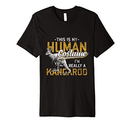 Ich bin wirklich ein Känguru T-Shirt Kostüm -