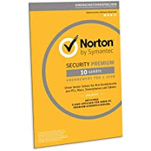 Norton Security Premium 2019 | 10 Geräte | 1 Jahr | PC/Mac/Android | FFP | Download