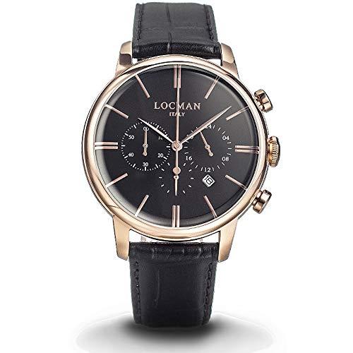 Reloj cronógrafo Hombre locman 1960Casual COD. 0254r01r-rrbkrgpk