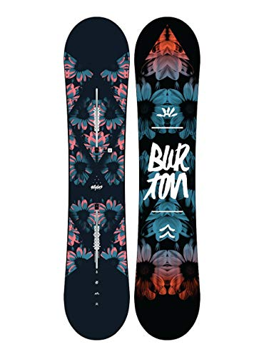 Burton stylus, tavola da snowboard donna, no color, 142