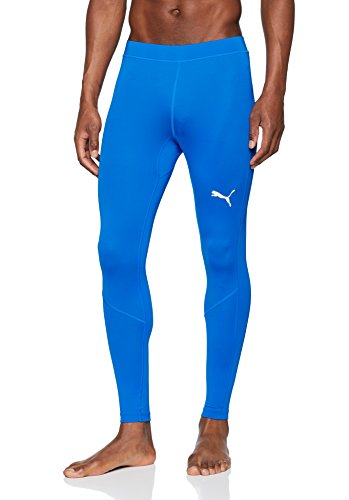 PUMA Erwachsene Liga Baselayer Long Tight Hose, Electric Blue Lemonade, L