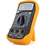 Unity Digital LCD Pocket Multi Meter/AC-DC Voltage/with Back Light (Yellow)