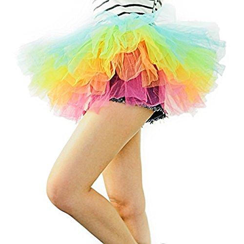 navadeal-organza-teen-adult-rainbow-negro-y-blanco-danza-o-disfraz-de-ballet-con-tutu-bullicio