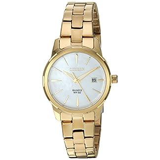 Citizen EU6072-56D – Reloj de pulsera, cuarzo, para mujer, acero inoxidable, estilo informal, color dorado –