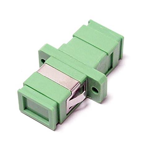Cablematic - Fiber optic coupler SC/APC to SC/APC singlemode
