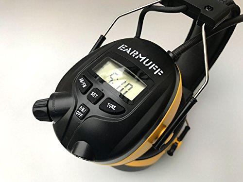 25 dB Original EARMUFF Radio Kapsel Gehörschutz Kopfhörer mit SmartPhone und MP3 Anschluss .