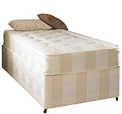 Deep Quilt Divan Bed Including Deep Quilt Mattress (Available in 2'6 Small Single - 3'0 Single - 3'6 Large Single - 4'0 Small Double - 4'6 Double - 5'0 Kingsize) produced by In2Bed LTD - quick delivery from UK.