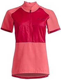 VAUDE eMoab Camiseta, Mujer, Crimson Red, 46