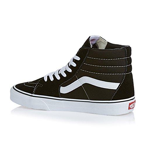 Vans Herren U SK8-HI High-Top Sneaker, Black/Black/White