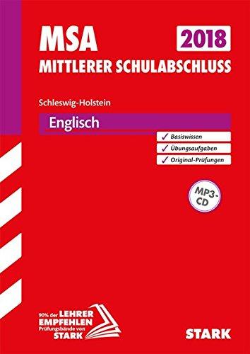Original-Prüfungen und Training MSA - Englisch - Schleswig-Holstein