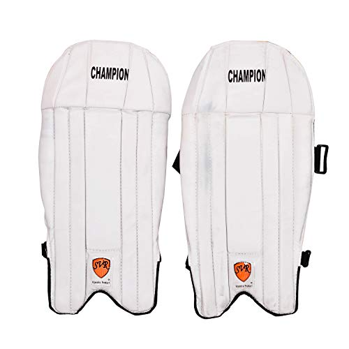 SVR Cricket-Schlagpolster für Erwachsene, 2 Stück, PU, volle Größe, Weiß