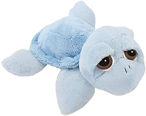 Suki Baby L'il Peepers Reef Turtle Soft Boa Plush Toy (Small, Blue)