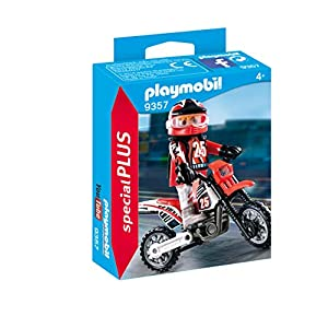 Playmobil 9357 Special Plus Motocross Driver
