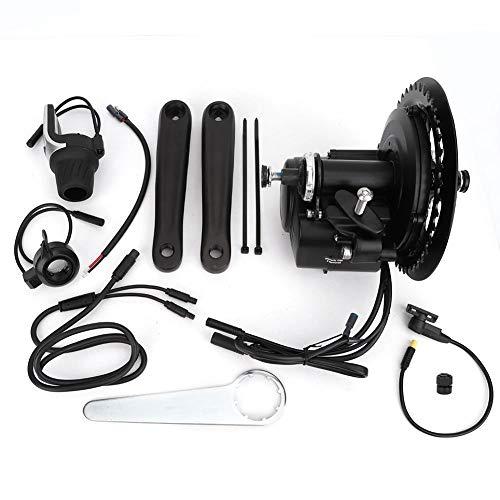 Kit de bicicleta eléctrica, 36V 250W Kit de motor de manivela de medio motor DIY eBike Sensored Torque...