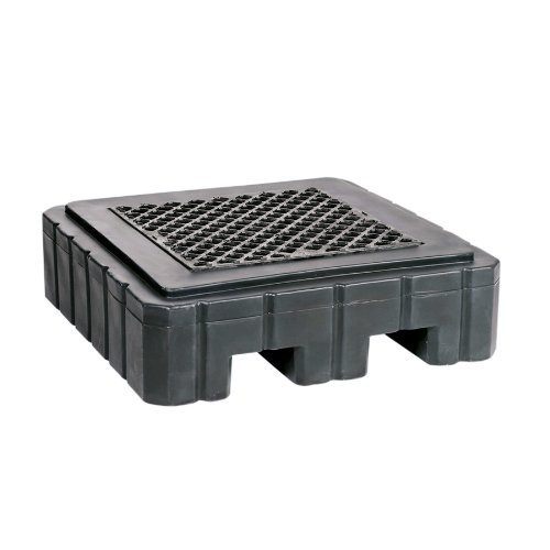 new-pig-pak987-bk-wod-pig-heavy-duty-poly-spill-containment-pallet-363-kg-load-capacity-udl-102-cm-l