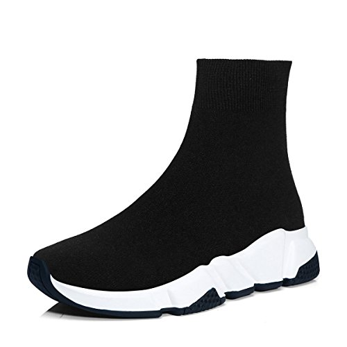 Zapatillas de Deportes Hombre Mujer Respirable Zapatos Deportivos Running Zapatillas para Correr Calcetines...