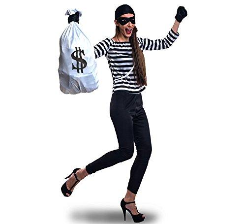 Imagen de disfraz de ladrona para mujer