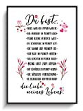 Liebesbeweis DIN A4 Kunstdruck Liebe Du Bist 2 ohne Rahmen Geschenkidee Valentinstag Jahrestag Freundin Dekoration Zuhause Wohnung Zimmer Modern