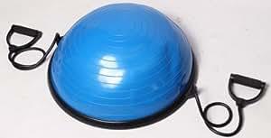 Bosu Balance Trainer Home Office de remise en forme de dôme Solde Body Balance Gym Ball avec pompe & Poignées de Pilates Yoga Fitness - Accueil et commerciales Modèle