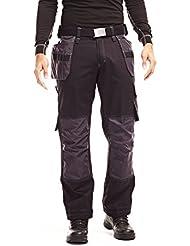 Helly Hansen Mens West Ham Construction Pants Trousers 76423 Black