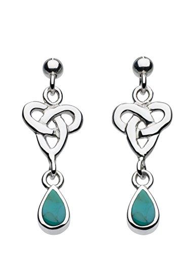 heritageboucles-doreilles-925-1000-argent-poire-turquoise-turquoise-femme