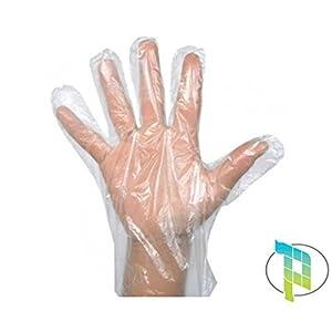 Palucart® 1000 guanti trasparenti monouso in polietilene guanti polietilene per alimenti usa e getta 41f3fNbECHL. SS300