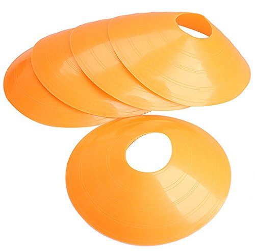 SaySure - 18cm Cone Marker Discs Soccer Football Training