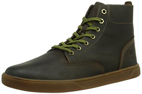 Timberland Groveton FTB_EK Groveton, Sneaker a collo alto Uomo Marrone (Braun (DARK BROWN))