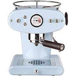 FrancisFrancis! X1 Trio Máquina de café espresso, Metal, Azul claro