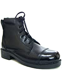 ASM Pure Leather DMS Boots : Pure Leather Upper, Leather Lining, Leather Breathable Socks With Memory Foam Cushioning...