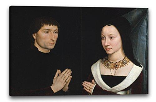 Printed Paintings Leinwand (60x40cm): Hans Memling - Tommaso di Folco Portinari (1428-1501); Mari -