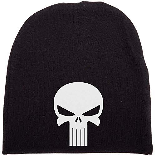 Integrity merchant Crazy Baby Clothing White Punisher Skull Infant Baby Beanie Cap Winter Hat One Size 18M (Cap Baby Skull)