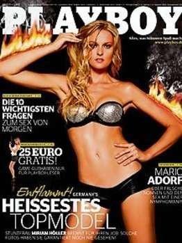 Playboy 2010-09 GNTM Topmodel Miriam Höller
