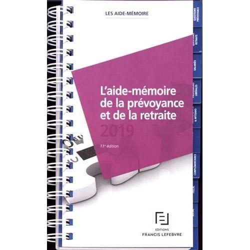 Aide-mémoire Prévoyance retraite 2019