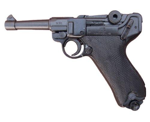 Deko Waffe Deutsche Luger-Pistole P 08, Parabellum -