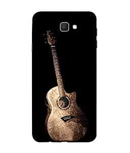 PrintVisa Standing Guitar For Music Lovers 3D Hard Polycarbonate Designer Back Case Cover for Samsung On5 (2016) New Edition For 2017 :: Samsung Galaxy On 5 (2017)