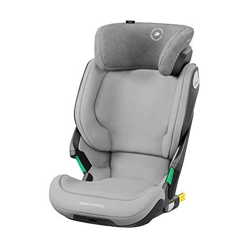 Bébé Confort Kore Seggiolino auto isofix 15-36 kg, per bambini 3.5-12 anni (100-150cm), sicurezza I-Size, protezione laterale SPS plus, colore  grigio chiaro
