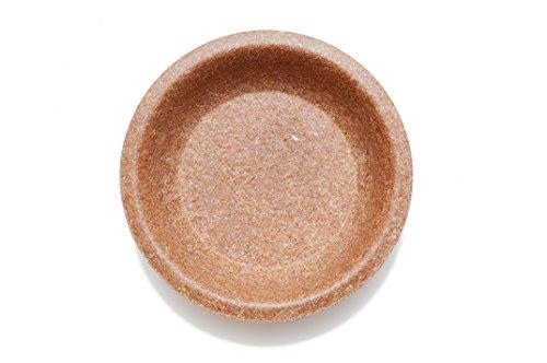 Alle Kleie Getreide (Aus WEIZENKLEIE: Ein- oder Mehrweg Besteck/Geschirr. Kompostier- und 100% biologisch abbaubar. Patentiert. (10 x Teller flach/flat plate Ø 20 cm))