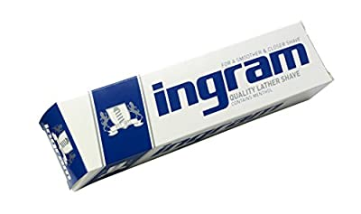 Ingram Shave Lather 100ml - Pack of 6 by Lornamead