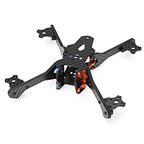 KINGDUO Realacc Rx5 215Mm Fpv Da Corsa Telaio x Frame Kit Rc Drone 5Mm Braccio In Fibra Di Carbonio