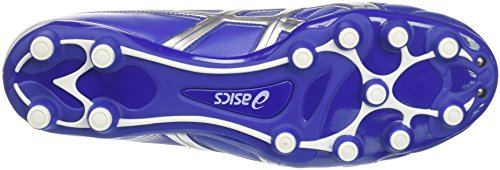 Asics Nippon CS, Chaussures de Football Mixte Adulte Multicolore (Royal/white/silver)